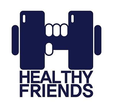 건강한친구들 로고