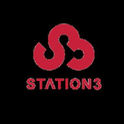 스테이션3 로고