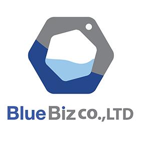 (주)블루비즈 로고