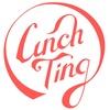 런치팅 logo