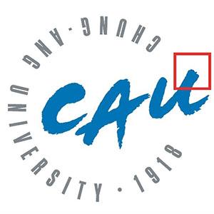 중앙대학교 logo
