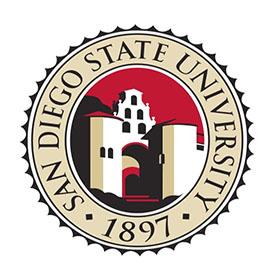 샌디에이고주립대학교 logo